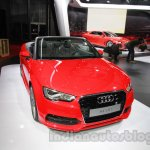 Audi A3 Cabriolet at Auto Expo 2014 front