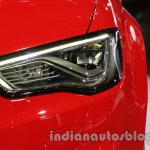Audi A3 Cabriolet at Auto Expo 2014 headlight
