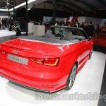 Audi A3 Cabriolet at Auto Expo 2014 rear quarter