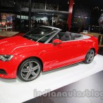 Audi A3 Cabriolet at Auto Expo 2014 side
