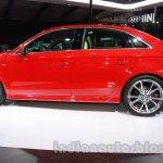 Audi A3 sedan profile at Auto Expo 2014