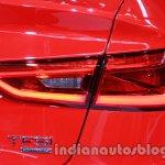 Audi A3 sedan taillamp at Auto Expo 2014