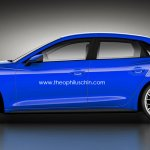 Audi A4 side rendering theophiluschin