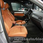 Audi Q3 special edition Auto Expo front seat
