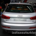 Audi Q3 special edition Auto Expo rear