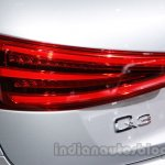 Audi Q3 special edition Auto Expo taillight