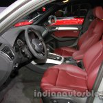 Audi Q5 special edition Auto Expo front seat