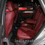 Audi Q5 special edition Auto Expo rear seat