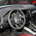 Audi Q5 special edition Auto Expo steering