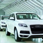 Audi Q7 Production rollout India