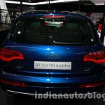 Audi Q7 special edition Auto Expo rear