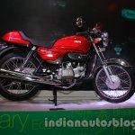 Auto Expo 2014 Hero Splendor Pro Classic Cafe Racer side
