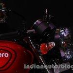 Auto Expo 2014 Hero Splendor Pro Classic Cafe Racer winkers