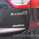 Auto Expo 2014 Maruti S Cross badge