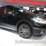 Auto Expo 2014 Maruti S Cross front left profile