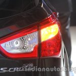 Auto Expo 2014 Maruti S Cross rear lamp