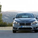 BMW 2 Series Active Tourer press shots front