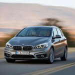 BMW 2 Series Active Tourer press shots profile