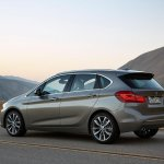 BMW 2 Series Active Tourer press shots rear quarter