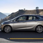 BMW 2 Series Active Tourer press shots side view