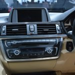 BMW 3 Series GT center console from Auto Expo 2014