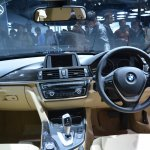 BMW 3 Series GT dashboard from Auto Expo 2014
