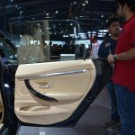 BMW 3 Series GT frameless rear door from Auto Expo 2014
