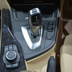 BMW 3 Series GT gear shifter from Auto Expo 2014