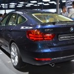 BMW 3 Series GT rear three quarters from Auto Expo 2014