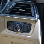 BMW 3 Series GT switchgear from Auto Expo 2014