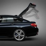 BMW 4 Series Gran Coupe press shots boot