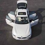 BMW 4 Series Gran Coupe press shots doors open