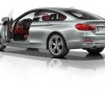 BMW 4 Series Gran Coupe press shots doors