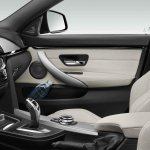 BMW 4 Series Gran Coupe press shots gearlever