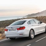 BMW 4 Series Gran Coupe press shots rear quarter 2