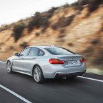BMW 4 Series Gran Coupe press shots rear quarter