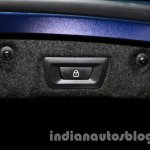BMW M6 Gran Coupe boot lock button live