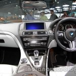 BMW M6 Gran Coupe dashboard live