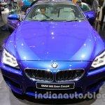 BMW M6 Gran Coupe front fascia live