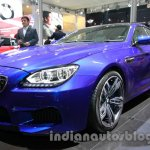 BMW M6 Gran Coupe front three quarter detail live