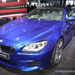 BMW M6 Gran Coupe front three quarter left live