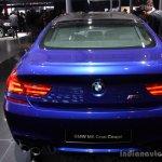 BMW M6 Gran Coupe rear live