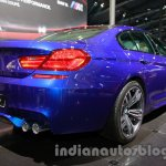 BMW M6 Gran Coupe rear three quarter right live