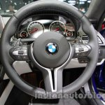 BMW M6 Gran Coupe steering wheel live