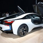 BMW i8 rear three quarter right live