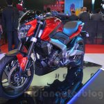 Bajaj Pulsar CS400 front three quarters view