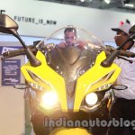 Bajaj Pulsar SS400 headlamp on