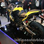 Bajaj Pulsar SS400 rear three quarters