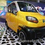 Bajaj RE60 Auto Expo 2014 front yellow