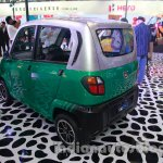 Bajaj RE60 Auto Expo 2014 rear quarter